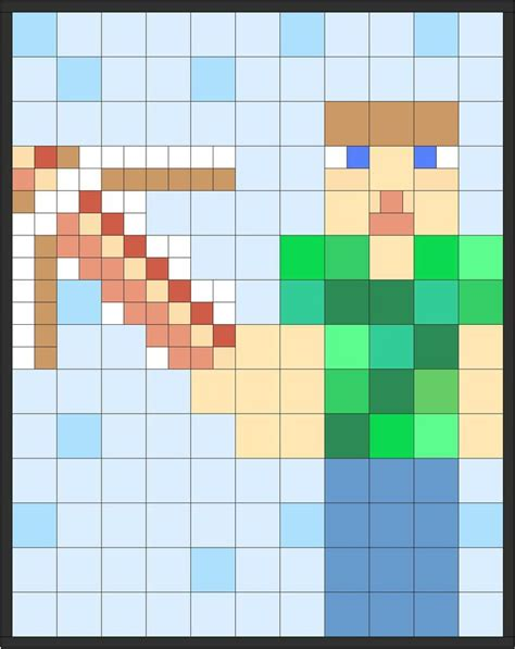 Minecraft Quilt Fabric by
