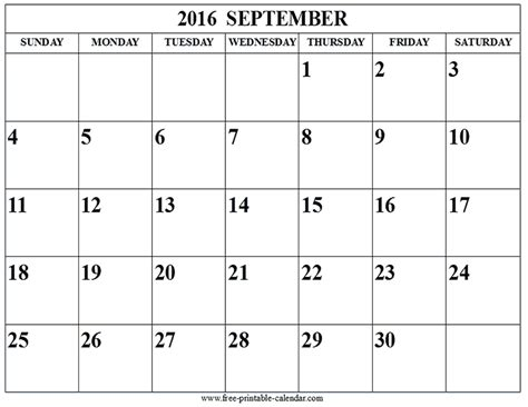 blank calendar september 2016 september 2016 calendar win blank template calendar