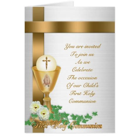 holy communion invitation templates communion invitation stationery note card zazzle