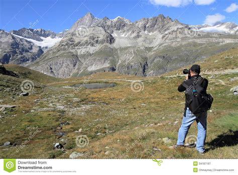 Landscape Photography Near Me Landscape Photographer At Matterhorn Royalty Free Stock