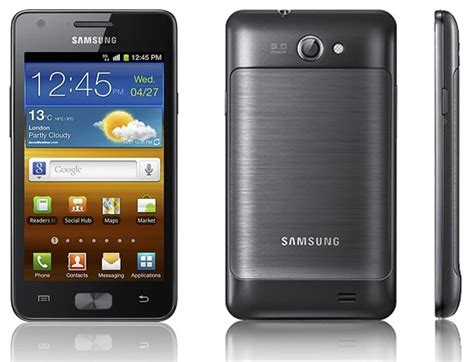 R Samsung Galaxy by Samsung Galaxy R I9103 Xda Forums
