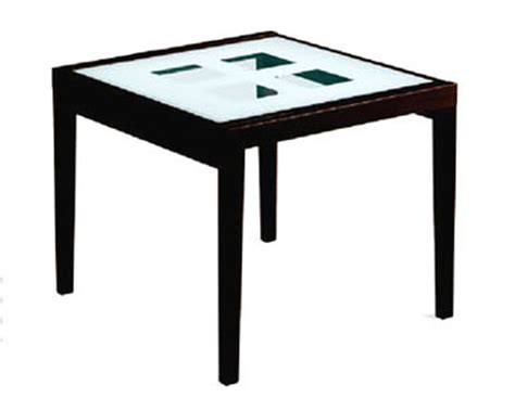 36in expandable dining table w frosted glass top