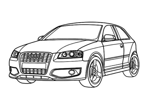 audi cars coloring pages audi cars sedan r8 coloring pages bulk color