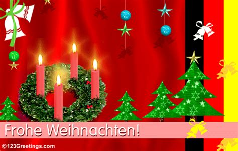 merry christmas  german  german ecards greeting cards