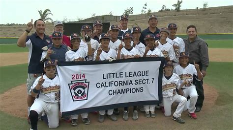 section 2 little league california 23 eric nakano 2014 sweetwater valley little league