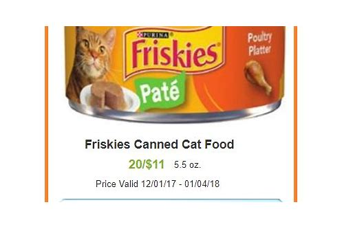 free printable coupons for friskies canned cat food