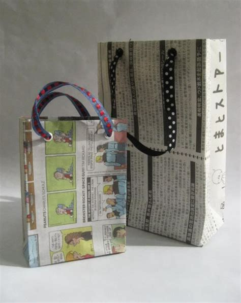 How To Make Paper Bags From Newspaper - best 25 gift bags ideas on