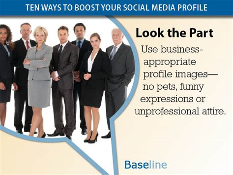 look the part ten ways to boost your social media profile