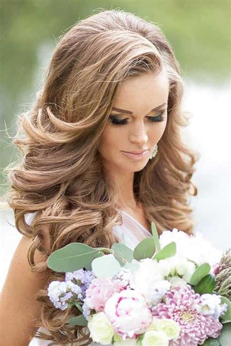 elegant hairstyles for a bride 20 elegant wedding hairstyles long hairstyles 2016 2017