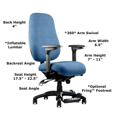 ergonomically correct desk chair neutral posture ergonomic chair adjustability ergomart