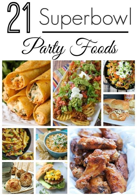 super bowl party food recipes