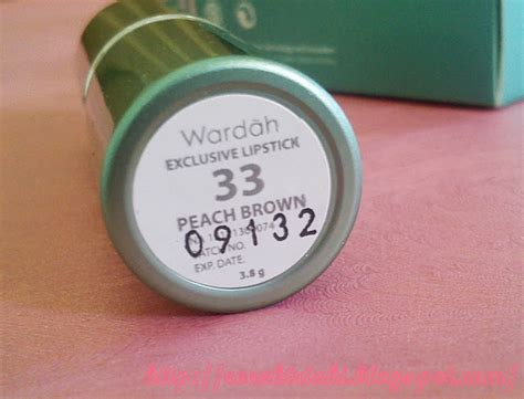 Lipstik Wardah No 36 reezki s review wardah exclusive lipstik no 33 brown