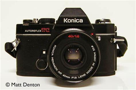 konica autoreflex tc matt's classic cameras