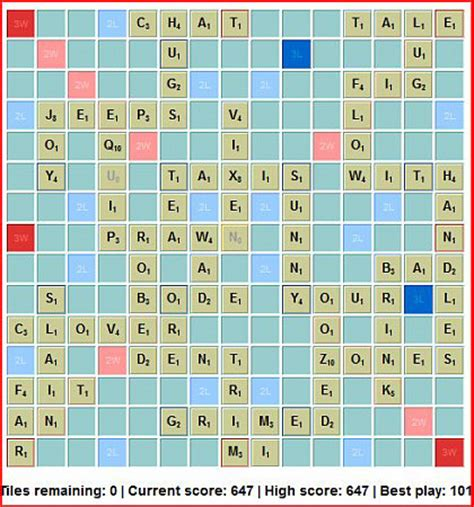 scrabble solitaire free scrabble for one continued barb s