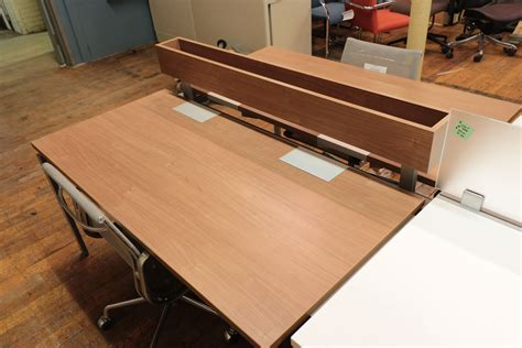inscape benching systems walnut with silver metallic