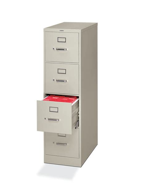 Hon H320 Series Letter Size 4 Drawer Vertical File Cabinet 4 Drawer Vertical Filing Cabinet