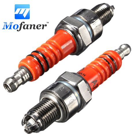 Busi Apvavanzaxenia 13 Duration Racing 4pcs 2pcs scooter motorcycle racing 3 electrode for spark for engine gy6 50cc 150cc rep c7ha