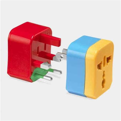 Luxury Culture 4in1 Vl27093 puzzle adapter plugs travel adapter
