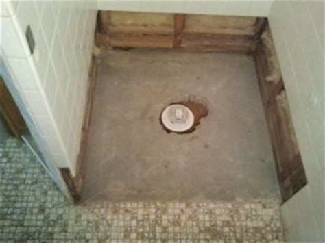 Shower Pan Refinishing Kit by Repair Shower Floor Contractor Quotes