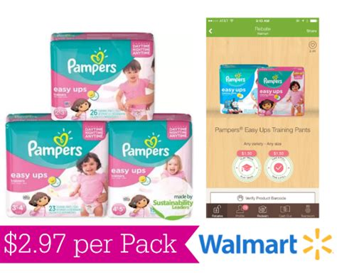 printable coupons pers easy ups printable pers easy ups coupons 2 97 at walmart