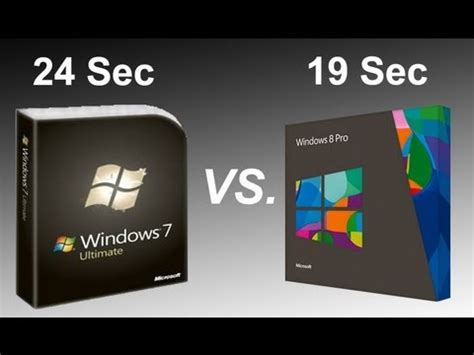 windows 7 vs. windows 8 ssd performance comparison speed