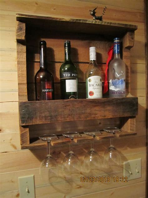 Make A Wine Rack Out Of A Pallet by Wine Rack Out Of An Hardwood Pallet Redo And Reuse