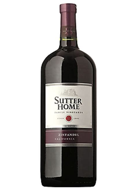 Sutter House Wine by Product Details Sutter Home Zinfandel Wine Wine