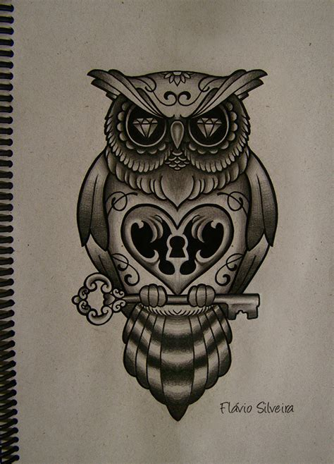 traditional owl tattoo owl free pictures