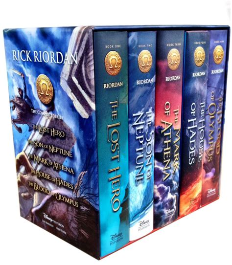 libro hero homecoming hardcover heroes of olympus rick riordan collection 5 books box set house of hades hero ebay