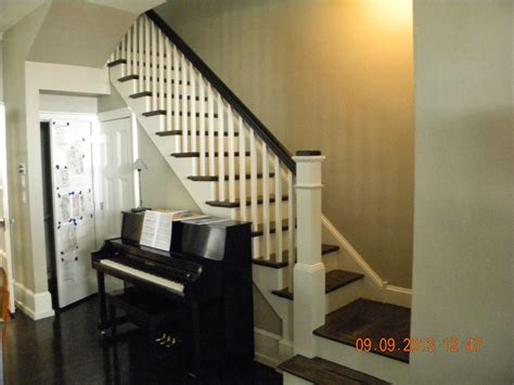 Box Stairs Design Wood Stairs And Rails And Iron Balusters New Stairs And Rails In Philadelphia