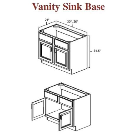 standard bathroom vanity dimensions standard bathroom vanity sizes standard vanity cabinet