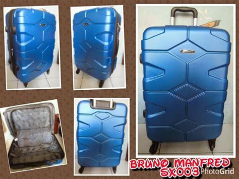 Harga Koper Merk Bruno Manfred distributor tas rangsel tas koper fiber hardcase bruno