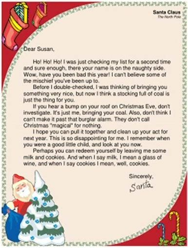 letter to santa template ireland letter from santa ireland letter of recommendation