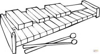 free coloring page xylophone xylophone coloring coloring