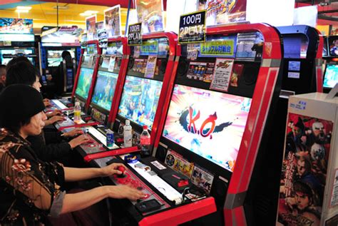 Arcade Fight Stick Vm V Korean Version versus city 5 essential japanese arcades kineda tours