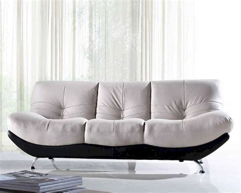 Two Tone Leather Sofa Two Tone Modern Leather Sofa European Design 33ss252