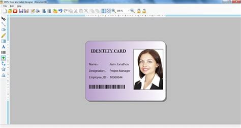 id card software id card maker software screenshot page