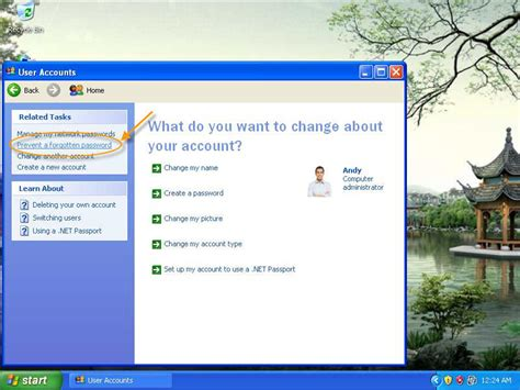 create password reset disk xp create xp password reset disk do not need to worry about