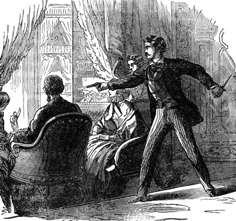 lincoln assassination clipart etc