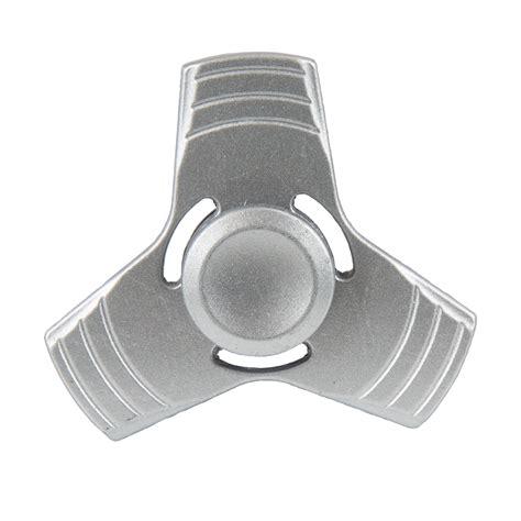 Spinner Fidget 2 Sisi Metal Silver Baru metal fidget spinner silver fidget at hobby warehouse