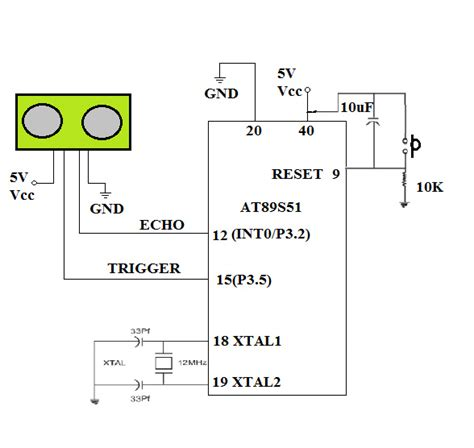 hc sr04 ultrasonic distance sensor datasheet ultrasonic hc sr04 with 8051 best embedded projects