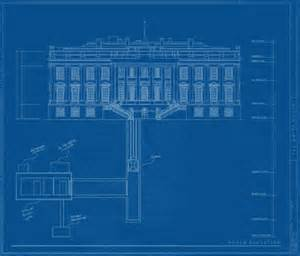 blueprint for house m underground one voice two species white house
