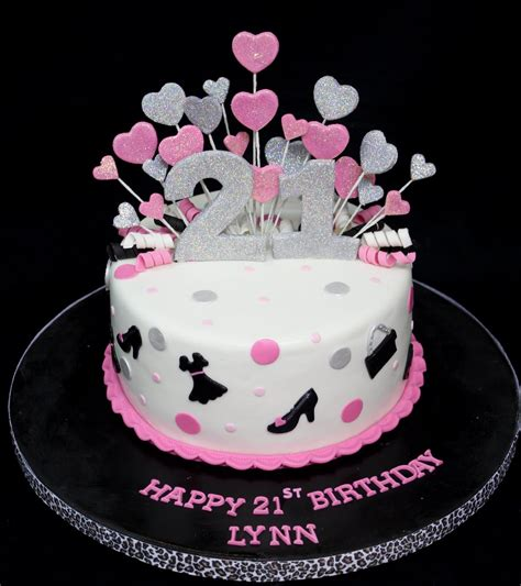 21st birthday cakes images complete deelite fashion glitter 21st birthday cake