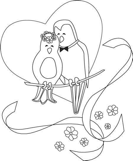 coloring page wedding search