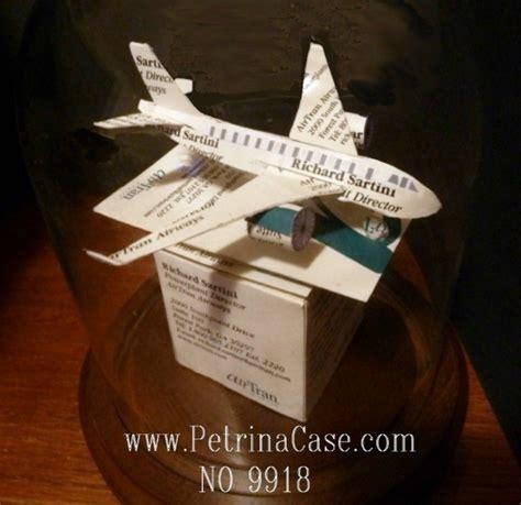 business card sculptures airplane business card sculpture no 9918 paperpopups s