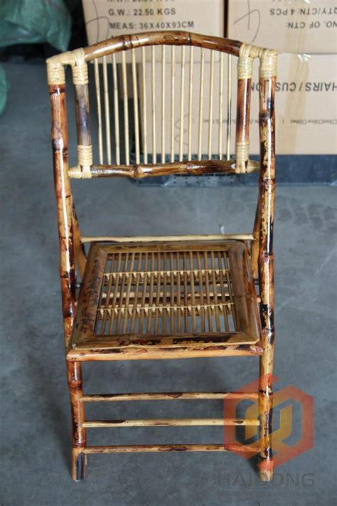 bamboo folding chair the chiavari chair company jimo city haidong iron and wood products factory china