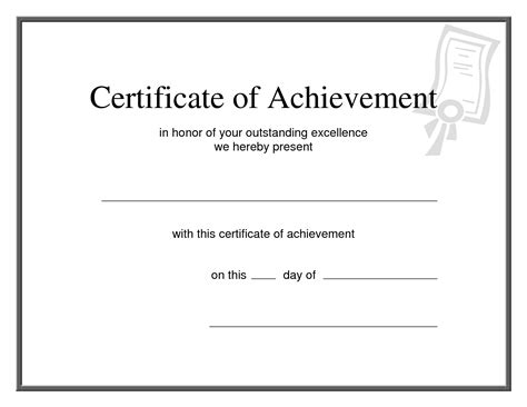 certificate of achievement template army army certificate of achievement template exle mughals