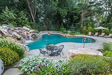 Waterfalls, Custom Swimming Pool, Outdoor Kitchen