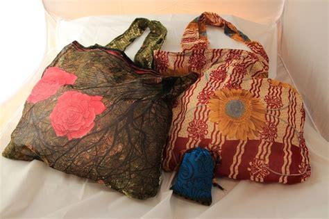 Eco Bags Handmade Fairtrade Sari Bag by Recycled Sari Pocket Bags Light And Strong As Silk