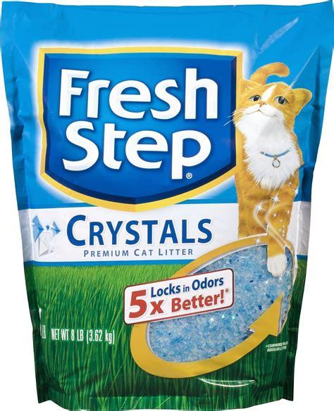 cat litter fresh step crystals cat litter 8 lb bag chewy